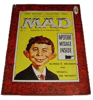 MAD magazine first UK issue 1959